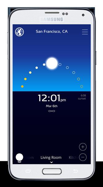 Sunn App on Samsung Galaxy